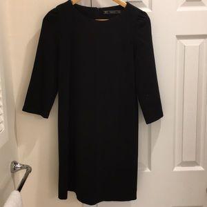 Zara women's black dress